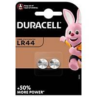 Pile bouton alcaline Duracell Specialty LR44, les 2 piles