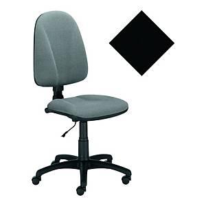 Krzesło LYRECO Premium Ergo bez podłokietników, czarne