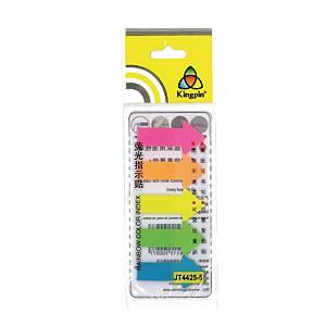Stick Index Marker Arrow 44X25mm Assorted