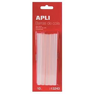 Recharge pistolet à colle Apli, le paquet de 10 tubes d'encollage