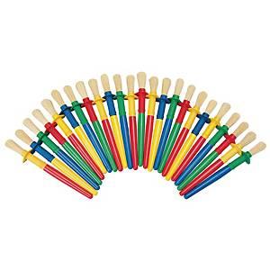 Colorations non-rolls pinceaux - le paquet de 24