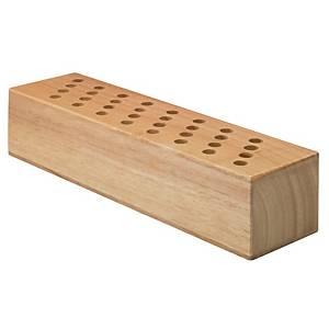 Westcott scharenblok voor 32 scharen, hout, per stuk