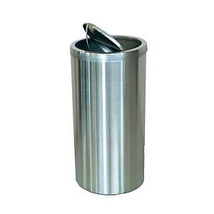 Sugo Stainless Steel Flip Top Waste Bin  600 X 295mm