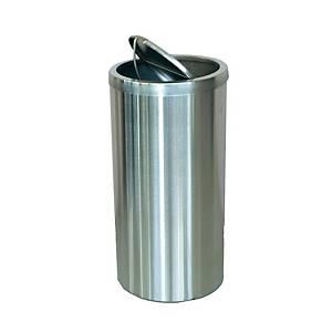 Sugo Stainless Steel Flip Top Waste Bin  600 X 295mm
