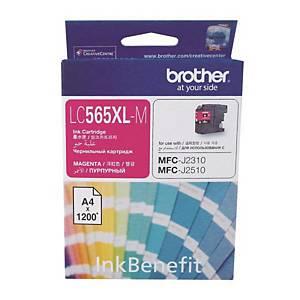 [직배송]BROTHER LC-565XL-M 잉크젯 토너 빨강