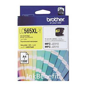 BROTHER LC-565XLY I/JET CART YLLW