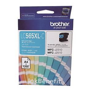 [직배송]BROTHER LC-565XL-C 잉크젯 토너 파랑