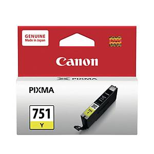 Canon CLI-751Y Original Inkjet Cartridge - Yellow