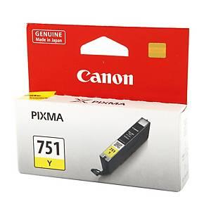 CANON ตลับหมึกอิงค์เจ็ท CLI-751Y สีเหลือง