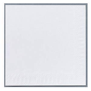 Serviet Duni Finess, 2-lag, 33 x 33 cm, hvid, pakke a 300