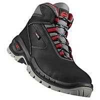 Chaussures de sécurité montantes Heckel Suxxeed S3 - noir/rouge - pointure 43