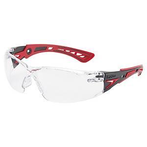 Bollé Rush+ veiligheidsbril, heldere lens