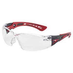 Óculos de segurança com lente transparente Bollé Rush Plus