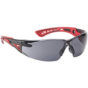 BOLLE RUSH PLUS SAFETY GLASSES ANTI-SCRATCH ANTI-FOG GREY