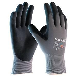 ATG MaxiFlex 34-874 precisie handschoenen, nitril gecoat, maat 8, per 12 paar