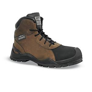 Chaussures de sécurité montantes Aimont Egis S3 - marron - pointure 43