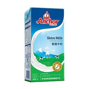 Anchor 安佳 脫脂奶 1L