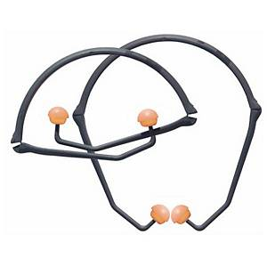 Support auditif et bouchons d'oreilles Honeywell Percap, SNR 24 dB, 10 paires