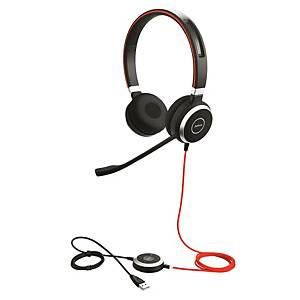 Headset Jabra Evolve 40 MS Duo, USB