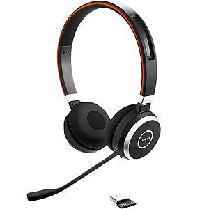 Headset Jabra Evolve 65 UC Duo/Stereo, inkl. Ladestation, Bluetooth