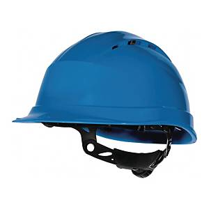 Deltaplus Quartz Up IV safety helmet, blue