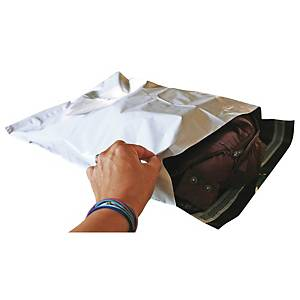 Postituspussi PP 240 x 350 x 50mm valkoinen