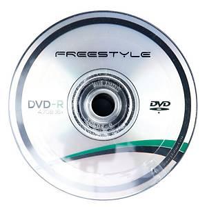 Płyty DVD-R FREESTYLE 41990 4,7 GB, 16x, cake 50 sztuk