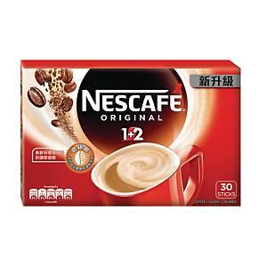 NESCAFÉ 雀巢 咖啡 1+2 原味即沖咖啡 15克- 30包裝