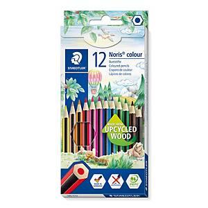 Crayons de couleur Staedtler® Noris Colour 185, la boîte de 12 crayons