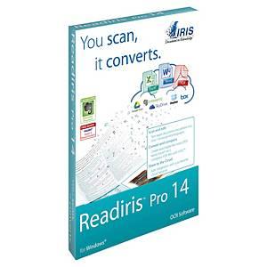 Logiciel Readiris Pro 14 pour MAC - conversion de document en texte éditable