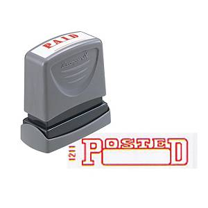 Xstamper VX Self Inking Posted Stamp Red