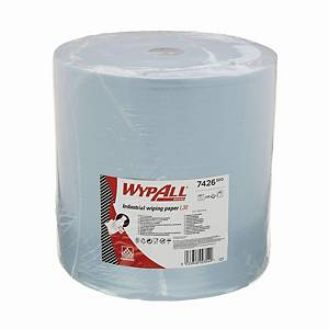 WYPALL L30 ULTRA+WIPER LARGE ROLL 3PLY