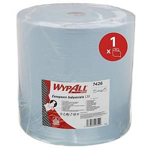 Bobina industrial Wypall - 254,6 m - 3 folhas - azul