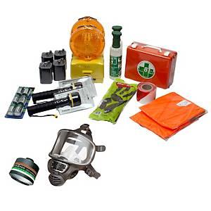 Kit di emergenza ADR per trasporto gas pericoloso su strada