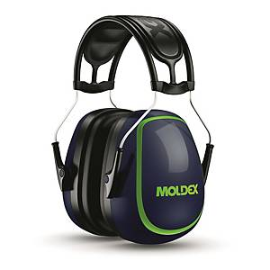Casque auditif Moldex M-serie M5, SNR 34 dB, bleu/vert
