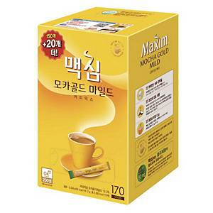 PK150+20 MAXIM MOCHA INSTANT COFFEE MIX 12G