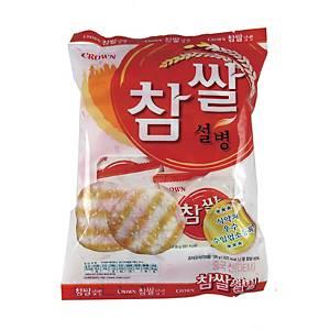 크라운 참쌀설병 10입 128g