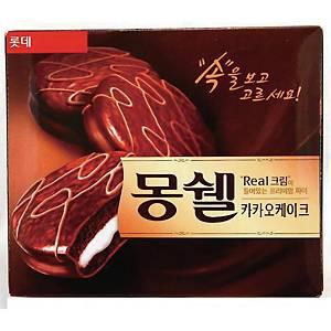 롯데 몽쉘 카카오 케이크 12입 384g