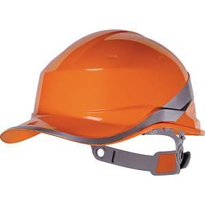 Casque de sécurité Deltaplus Diamond V, en ABS, plage réglage 53-63cm, orange