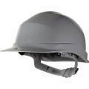 Casque de sécurité Deltaplus Zircon 1 - serrage glissière - gris