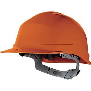 Casque de sécurité Deltaplus ZirconI, en PE, plage réglage 53-63cm, orange