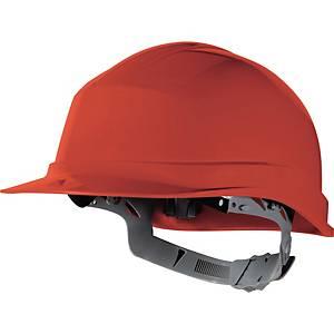 Casque de sécurité Deltaplus Zircon 1 - serrage glissière - rouge