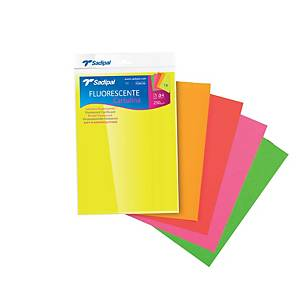 PK5 SADIPAL SHEET A4 250G FLUO COLOURS