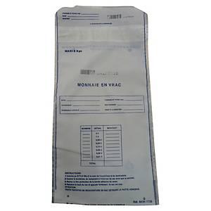 Sacs à monnaie - capacité 5 kg - 280 x 170 mm - paquet de 100