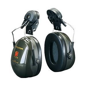 Helm-Kapselgehörschützer 3M Peltor Optime II, 30dB, moosgrün
