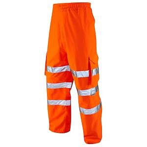 Leo LO2 High Visibility Overtrousers Orange Small