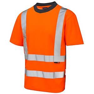 Leo TO1-O High Visibility T-Shirt Orange XL