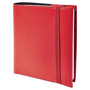 QUOVADIS TIME&LIFE MED SAD DIARY16X6 RED