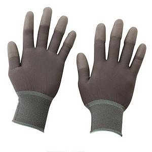 PK10 KORECA PU-TOP COATED GLOVE GRY S