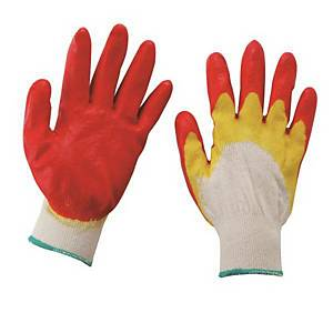PK10 SONGHACK DOUBLE-COATED GLOVES YELLOW